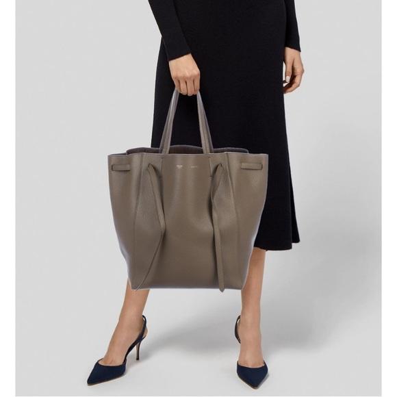 65980da0fc8c Celine Handbags - Céline Medium Cabas Phantom Tote w  Belt